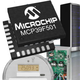 Nouveau circuit Microchip de suivi de consommation électrique