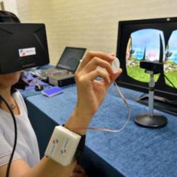 Toucher des images en 3D
