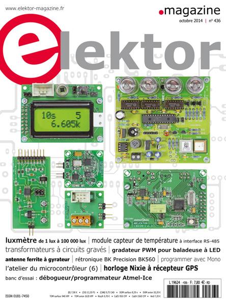 Le numéro d'Elektor d'octobre 2014 est en kiosque