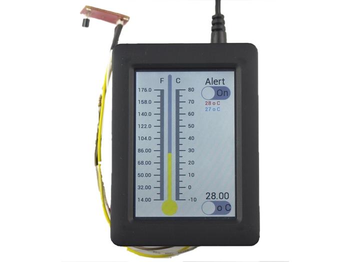 Capteur de température interfacé avec CleO.