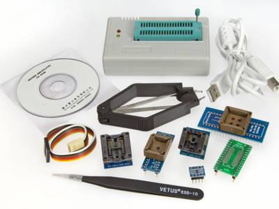 Banc d'essai: programmateur MiniPro TL866A