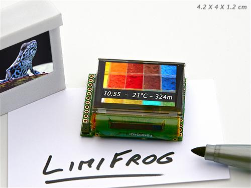 Pour moins de 25 g, LimiFrog va vous permettre de faire des merveilles.