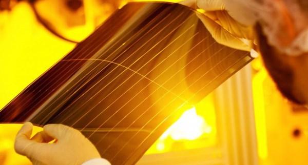 Rendement record pour des cellules solaires organiques