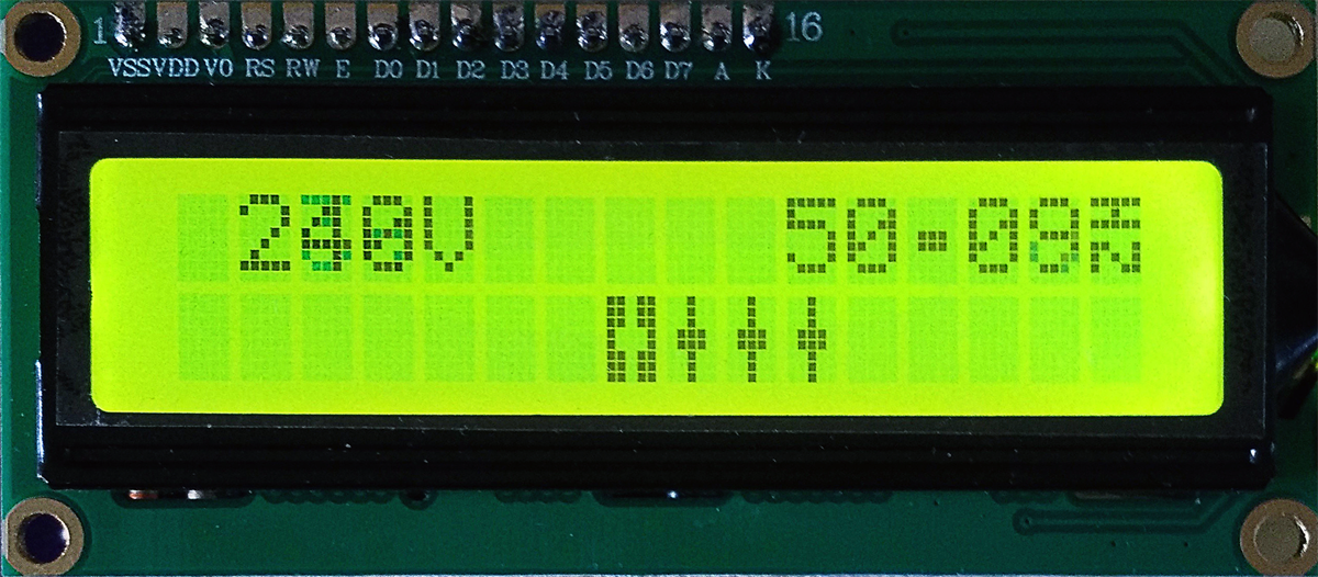 La précision du fréquencemètre est de 25 mHz.