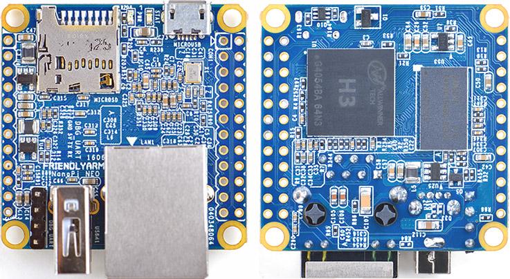 La carte NanoPi NEO.