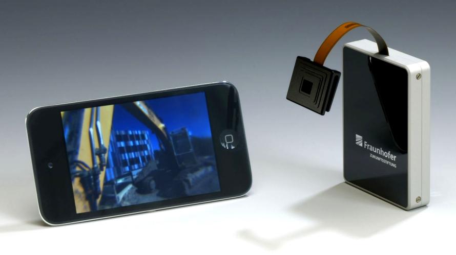 Œil à facettes pour smartphones et robots