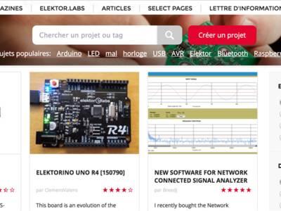Elektor Labs : guide du visiteur