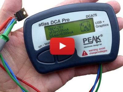 Analyseur perfectionné pour semi-conducteurs PEAK Atlas