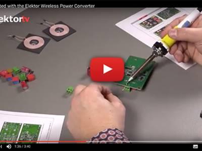 Nouveau kit préassemblé du convertisseur de puissance sans fil Würth