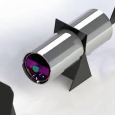 Ce cylindre de 2 mètres n'a besoin d'aucun carburant pour produire de l'électricité.