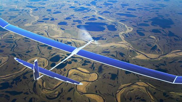 Adieu antennes relais et câbles Internet ? || Image : Google Titan ||