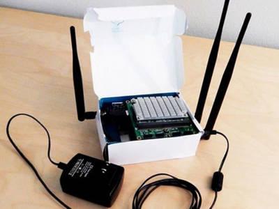Naviguez sur l'internet à 4 km de votre point d'accès réel