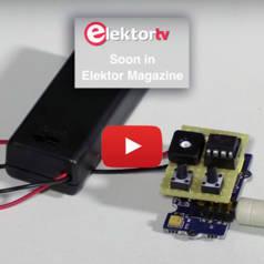 Elektor Grove : mini récepteur FM à commande I²C