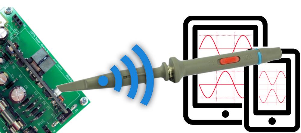 La sonde sans fil SmartProbe.