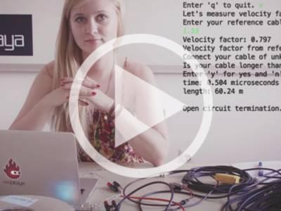 Red Pitaya | Tutoriel vidéo : Mesure de longueur de câble et réflectométrie