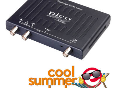 Oscillos USB PicoScope = méga perf + pico prix