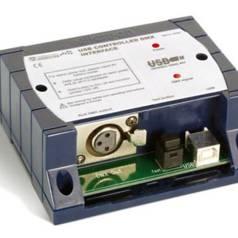 Régie de lumière DMX via USB
