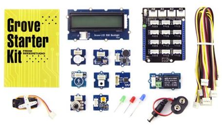 Banc d'essai : Kit de démarrage Grove pour Arduino