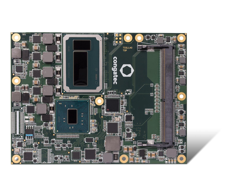 Server-on-Modules conga-TS170 équipés des nouveaux processeurs Intel Xeon E3-1578L et E3-1558 pour de vraies capacités de traitement multimédia en temps réel pour 15  flux VHEC.