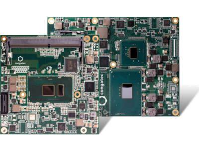 Les nouveaux modules de congatec prennent en charge le brochage COM Express Type 6, avec PCI Express Gen 3.0, USB 3.0 et USB 2.0, SATA Gen 3, Gigabit Ethernet ainsi que les interfaces bas débit comme LPC, I2C et UART.