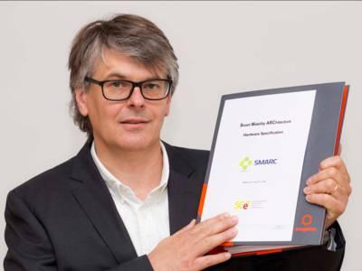 Christian Eder a joué un rôle majeur dans la rédaction de la spécification SMARC 2.0.