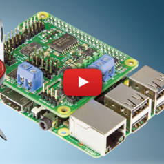 Carte d'extension MLI/PWM et CAN/ADC pour Raspberry Pi