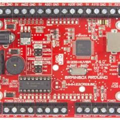 Connectez un module Bluetooth HC06 (en bas à droite) et commandez BrainBox AVR depuis votre téléphone tactile!
