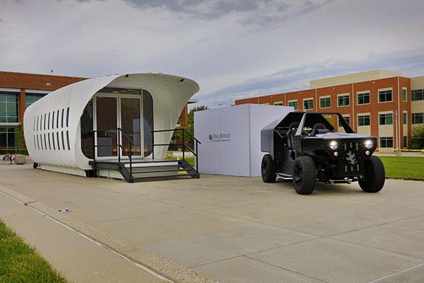 L'abri et le véhicule peuvent se transmettre de l'énergie dans les deux sens.