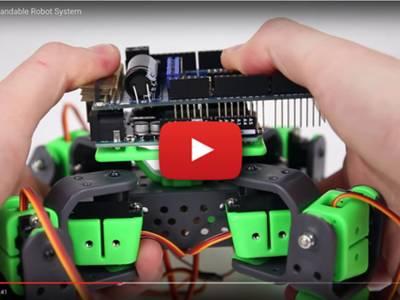 AllBot : robot quadrupède modulaire à base d'Arduino