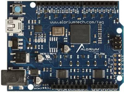 La carte XLR8 d'Alorium.