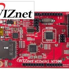 Banc d'essai : carte WIZwiki-W7500 de WIZnet