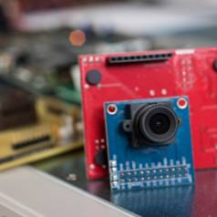 """© Georgia Tech   Anvesha A, Shaojie Xu, Ningyuan Cao, Justin Romberg and Arijit Raychowdhury, """"A Light-powered, """"Always-On"""", Smart Camera with Compressed Domain Gesture Detection"""
