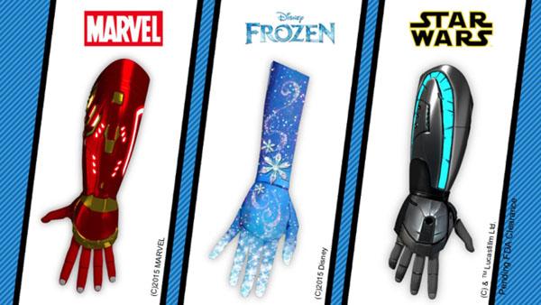 Iron Man, La reine des neiges ou Star Wars, il y en aura pour tous les goûts.