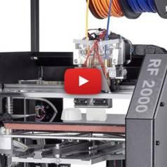 Trois imprimantes 3D de Conrad Electronics
