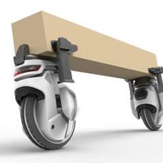 Plusieurs drones peuvent faire équipe pour transporter de grands objets.