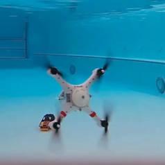 Loon Copter, drone nageur et futur sauveteur