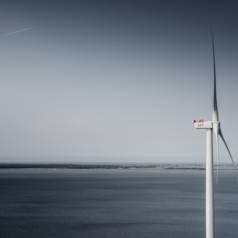 Éolienne de 9MW: un record. Source: MHI Vestas Offshore Wind