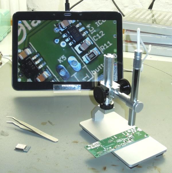 Banc d'essai : Andonstar, un microscope USB épatant