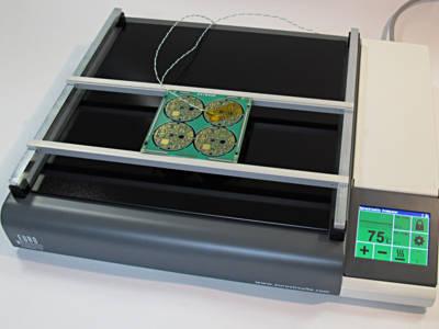 Banc d'essai : eC-Preheater et eC-Fume-cube