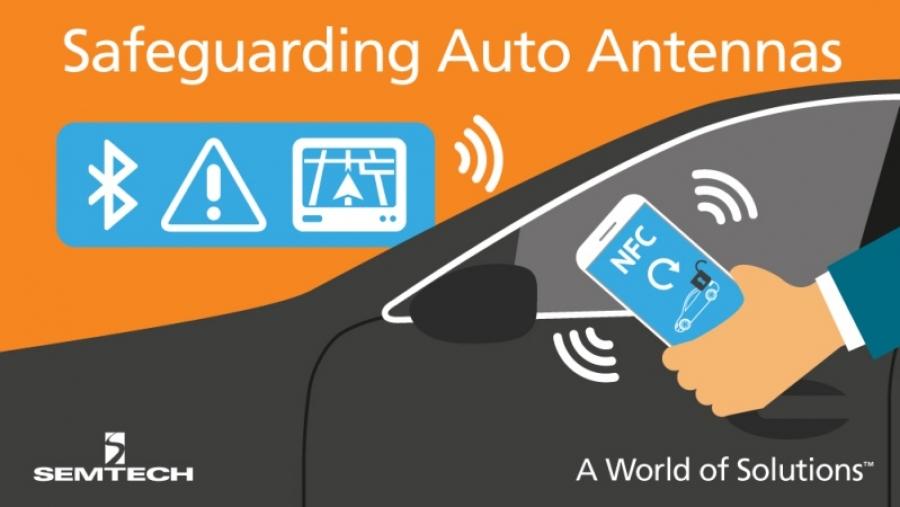 Mini-diode de protection pour antennes d'auto