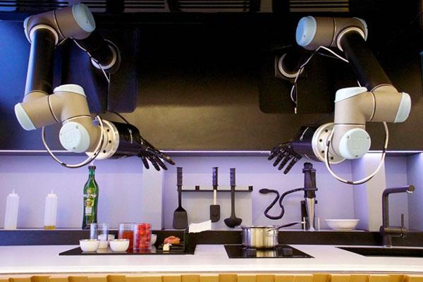 Un robot aux fourneaux