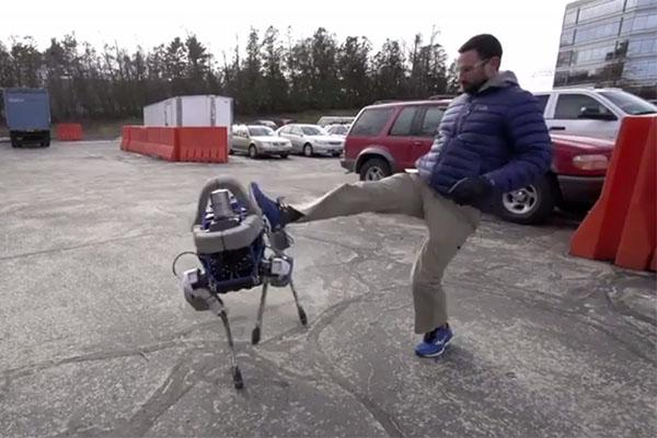 Un robot qui a du chien