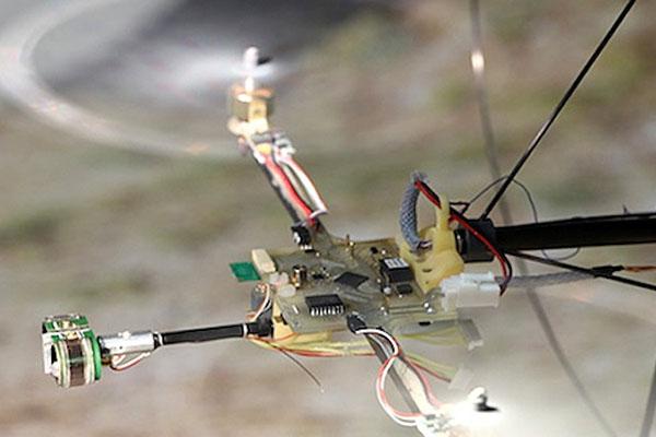 Une solution poids-plume pour remplacer les accéléromètres