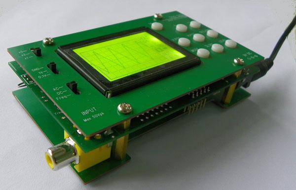 Oscilloscope en kit pour débutants.