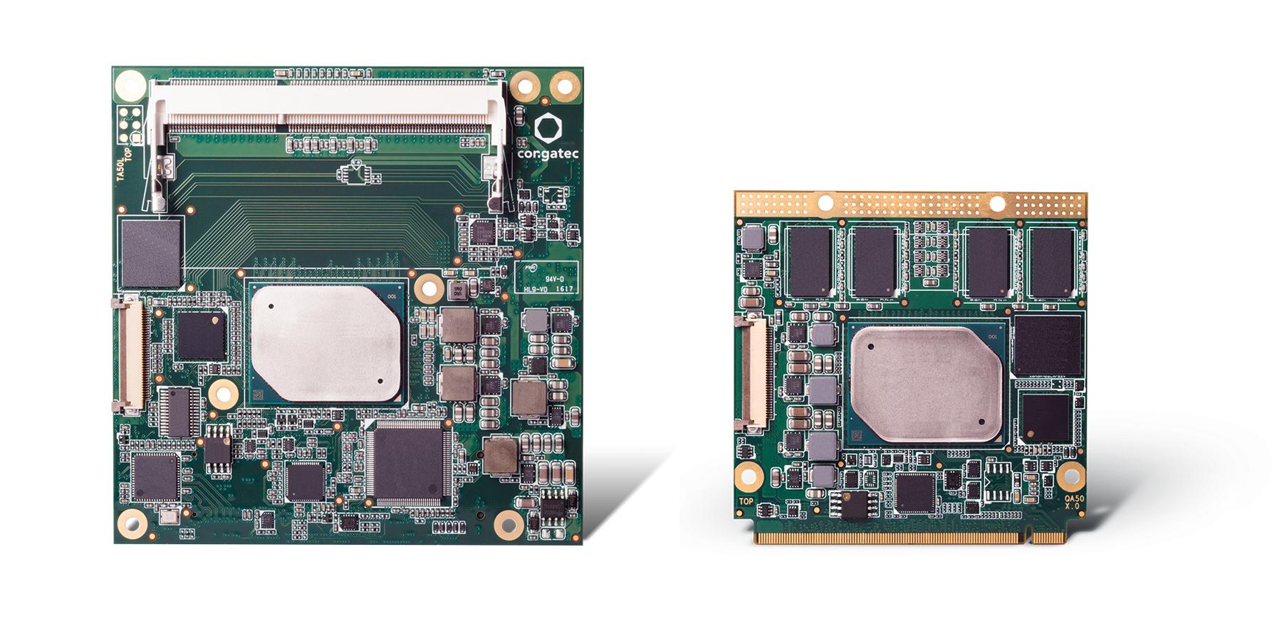 congatec présente de nouveaux modules Qseven et  COM Express Compact basés sur les nouveaux processeurs  faible-consommation d'Intel (nom de code Apollo Lake)