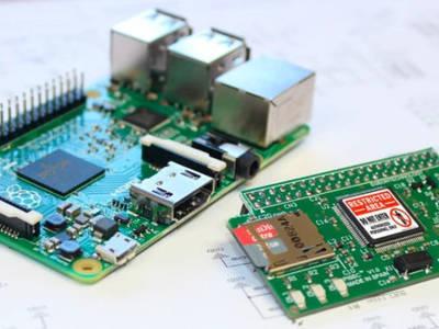 La carte d'extension PiSec.