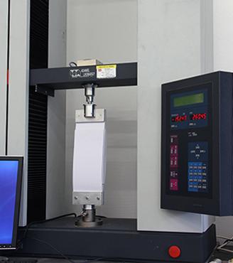 Dispositif expérimental de mesure de la force de friction.© Frédéric Restagno et Christophe Poulard