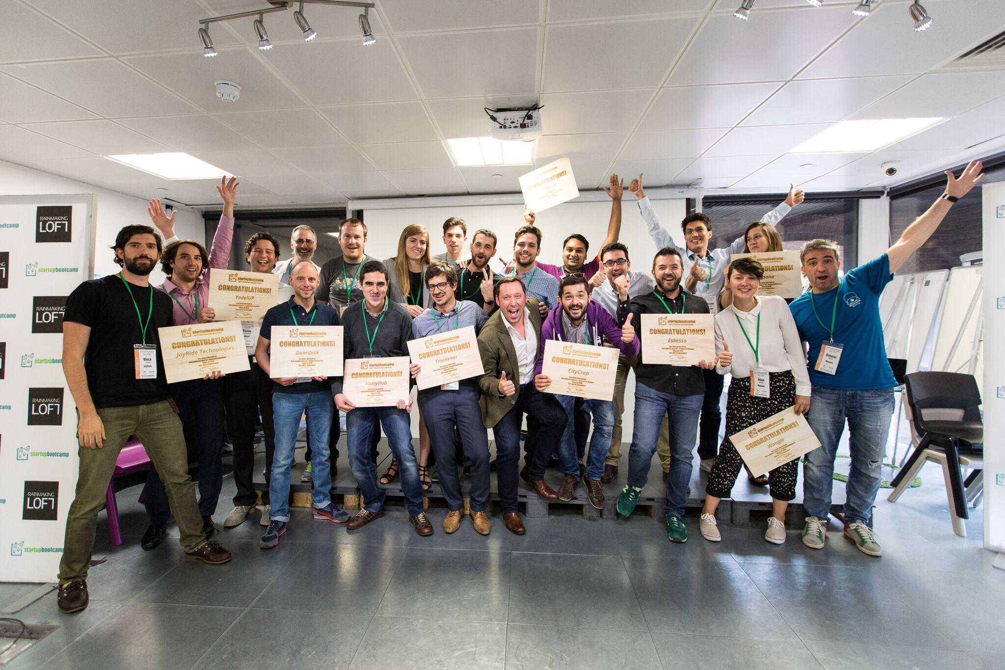 Chaque start-up sélectionnée reçoit 15000€