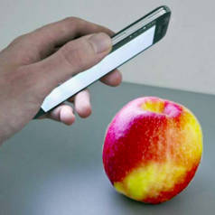 Des pesticides sur les pommes? Illustration: IFF Fraunhofer