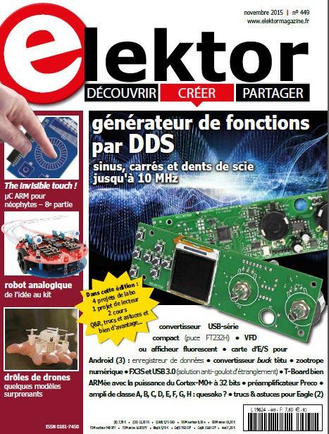 Le n° 449 d'Elektor sera en kiosque dès le 23 octobre.